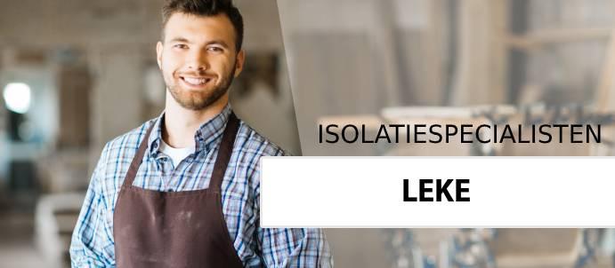 isolatie leke 8600